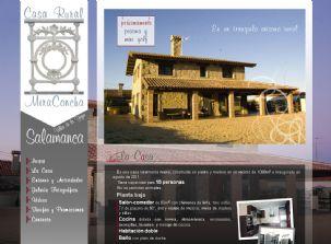 Dise o web profesional dise o de p ginas web marketing - Miraconcha casa rural ...